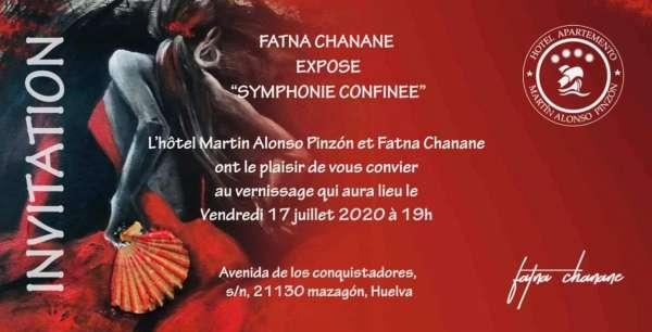 « Symphonie Confinée » : l'exposition d'une ''exilée ''à Huelva