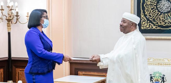 Afrique : Rose Christiane Ossouka Raponda, première femme gabonaise chef de l'Exécutif