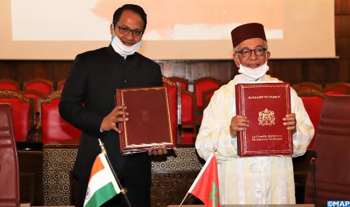 Coopération judiciaire : Le Maroc et l'inde renforcent leur partenariat