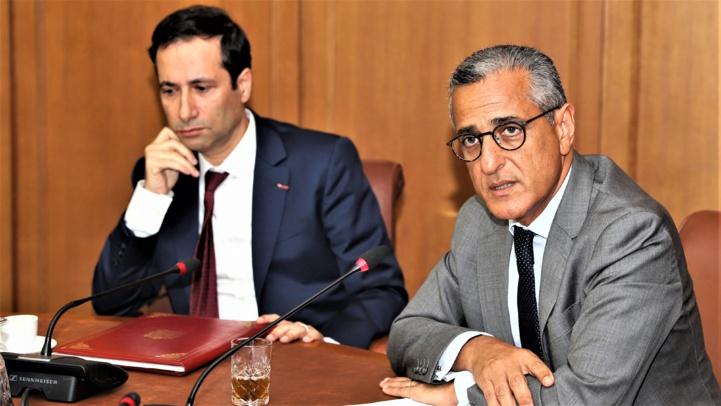 M. Karim Tajmouati intervenant lors de la présentation des prix des transactions immobilières et foncières en la présence du ministre de l'Economie et des Finances, Mohammed Benchaaboun. (Ph. MAP, Juin 2019).