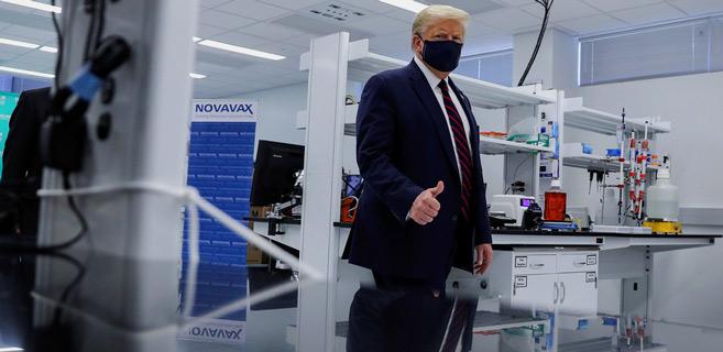 Covid-19  : Trump mise tout sur les vaccins