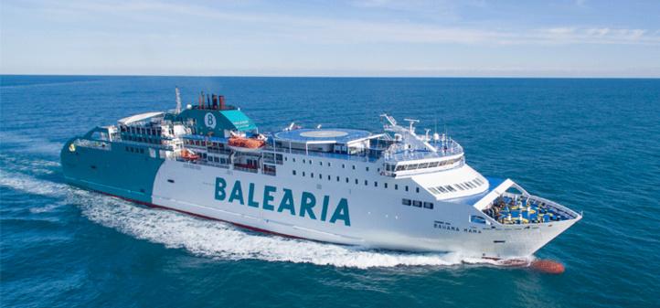 Sète-Nador : Baleària dévoile son programme de voyages