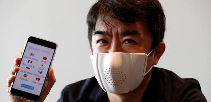 C-Face Mask : Un masque intelligent qui retranscrit les paroles