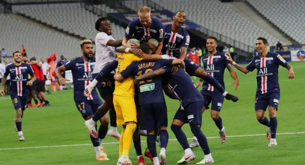 France : Le PSG remporte la Coupe de la Ligue face à Lyon