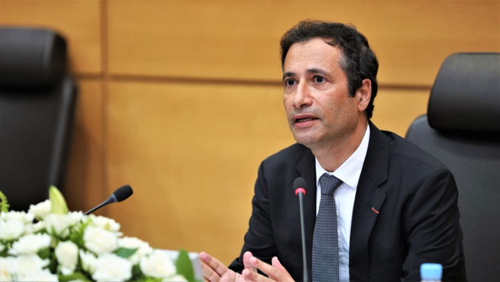 Ministre de l'économie, des Finances et de la Réforme de l'Administration, Mohamed Benchaâboun.