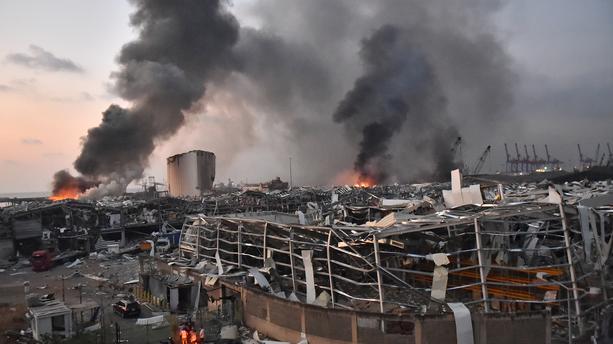 Violente explosion à Beyrouth, des morts et des dizaines de blessés (images)