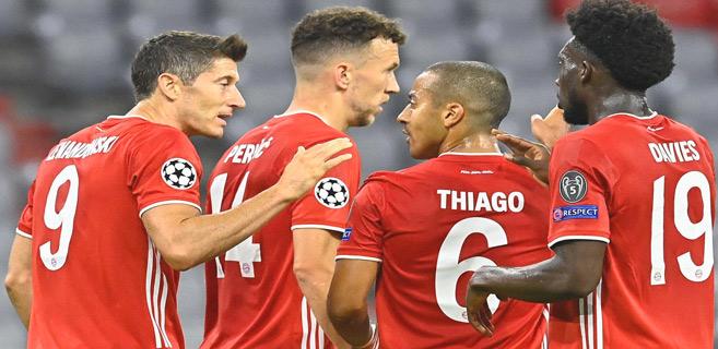 Ligue des champions : Le Bayern favori, le PSG et City pleins d'espoirs