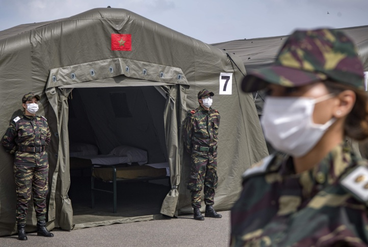 L'hôpital militaire marocain déployé à Beyrouth offre plus de 3200 services médicaux
