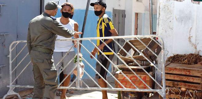 Rabat : A la capitale, les autorités font régner l'ordre