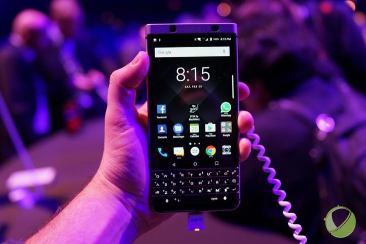 BlackBerry est de retour