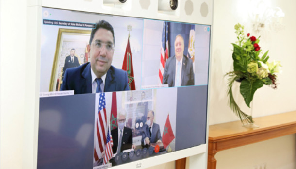 "Maroc-Etats-Unis : M. Bourita se réjouit de ""l'alliance inébranlable"" qui continue de prospérer"