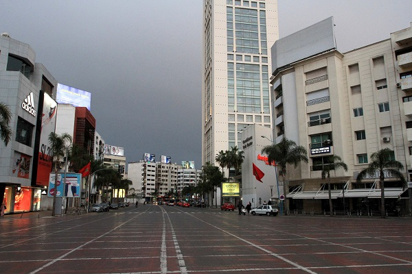 Casablanca quasi-reconfinée