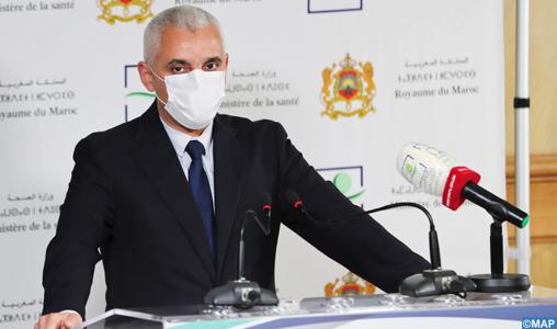 """Covid-19 : Khalid Ait Taleb annonce un soutien logistique """"substantiel"""" pour Casablanca"""