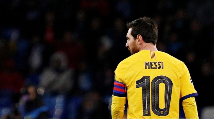 Lionel Messi a repris l'entraînement collectif avec Barcelone
