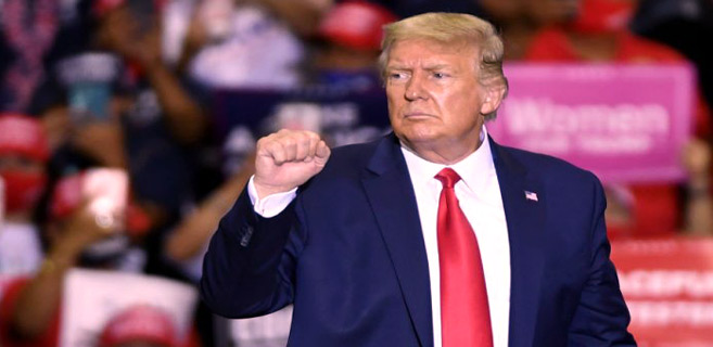 Etats-Unis : Meeting indoor de Trump, indignation des autorités locales