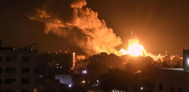 Palestine : Raids israéliens sur Gaza et salve de roquettes sur les colonies
