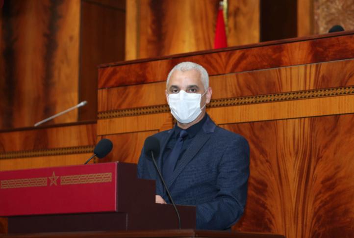 Aït Taleb expose son bilan de la situation épidémiologique au Parlement