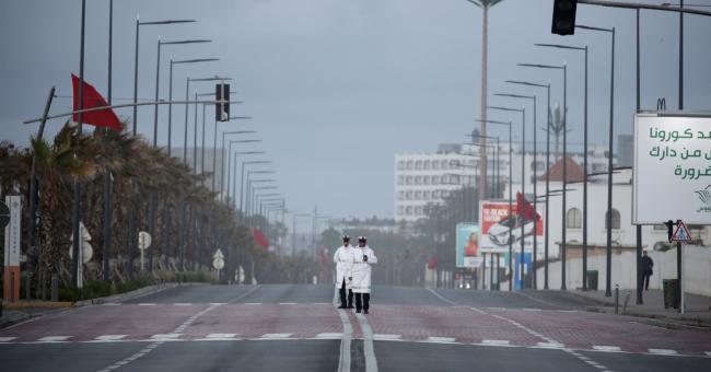 Casablanca bouclée pour 14 jours supplémentaires