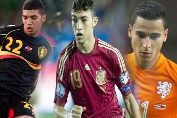 Amendement FIFA/Binationaux : Munir El Haddadi, Anwar El Ghazi et Zakaria El Bekkali éligibles en équipe nationale