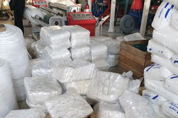 Tanger : Démantèlement d'une usine clandestine de fabrication de sacs en plastique