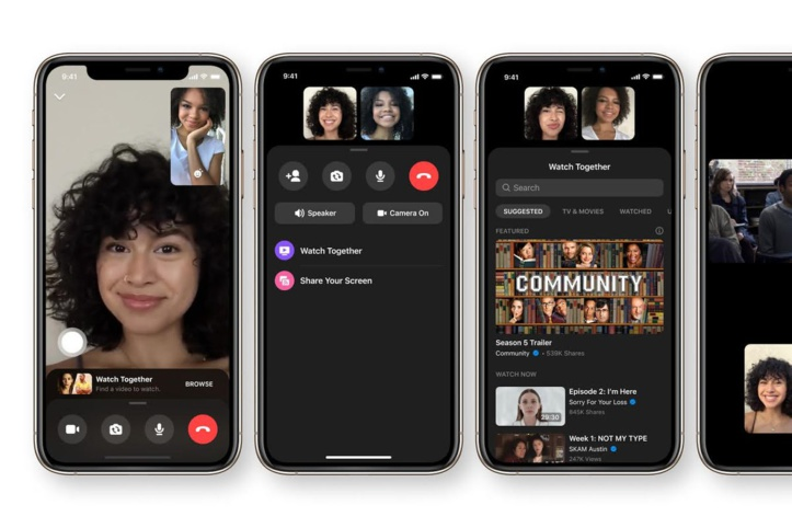 Facebook dévoile sa nouvelle option « Watch Together »