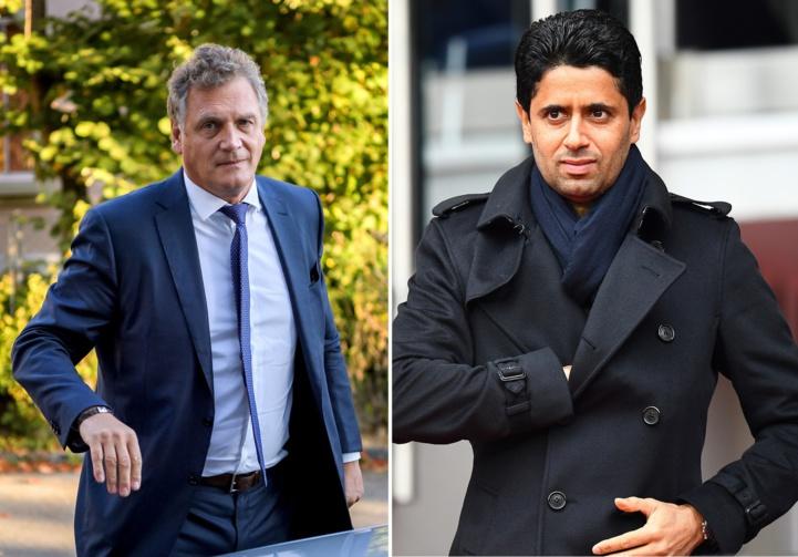 Procès Fifa: Prison requise contre Al-Khelaïfi et Valcke