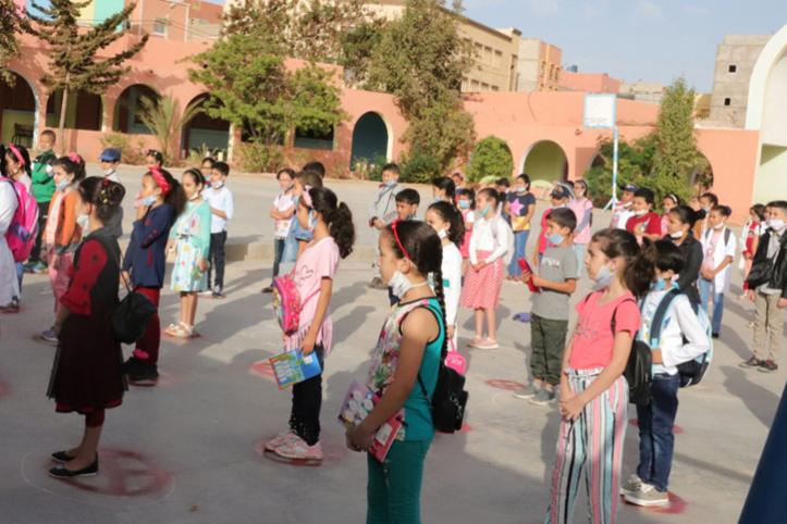 Rentrée scolaire : la covid-19 atteint 413 élèves