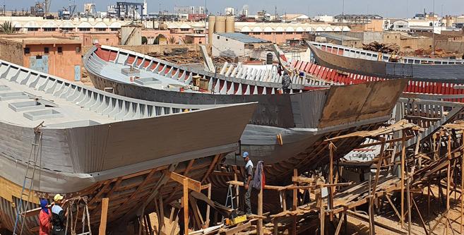 Tan-Tan : Lancement d'un nouveau chantier naval