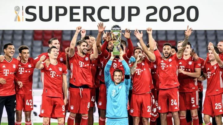 Supercoupe d'Allemagne : Le Bayern remporte le cinquième trophée en 2020