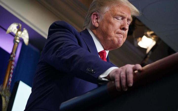 Trump et sa femme testés positifs au Covid-19
