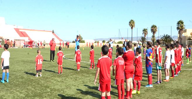 L'ouverture de l'école de football du CODM. Phs Laglag