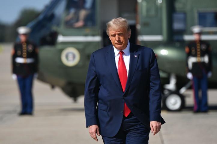Après la contamination de Trump, les États-Unis plus que jamais hantés par la Covid-19