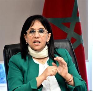 Amina BOUAYACH,  présidente du Conseil national des droits de l'Homme (CNDH)