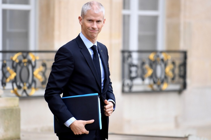 Franck Riester, ministre délégué auprès du ministre de l'Europe et des Affaires étrangères, chargé du commerce extérieur et de l'Attractivité