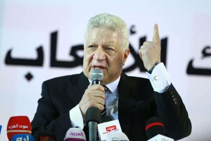Zamalek : Le président Mourtada Mansour suspendu pour 4 ans de toute activité sportive avec effet immédiat !