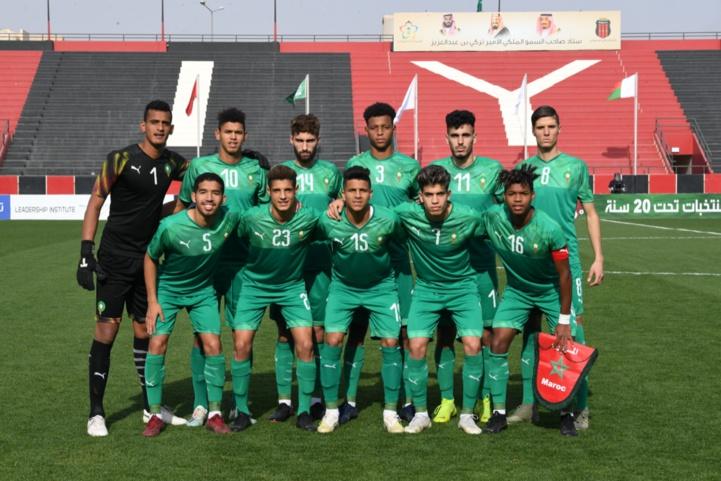 Équipe nationale U20:  Double confrontation Maroc-Mauritanie en amical, les 10 et 13 octobre