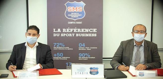 Rabat : STADIA et Sports Management School - Rabat lancent une étude pour booster le sport marocain