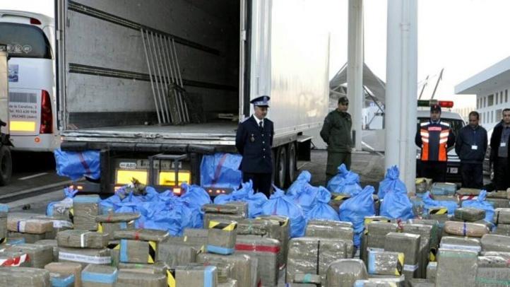 La chasse au trafic de drogue continue, saisie de 11 tonnes et 440 kg de chira à Tanger