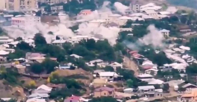 Karabakh : La guerre déplace la moitié de la population