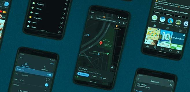 Google Maps : déploiement du «dark mode»