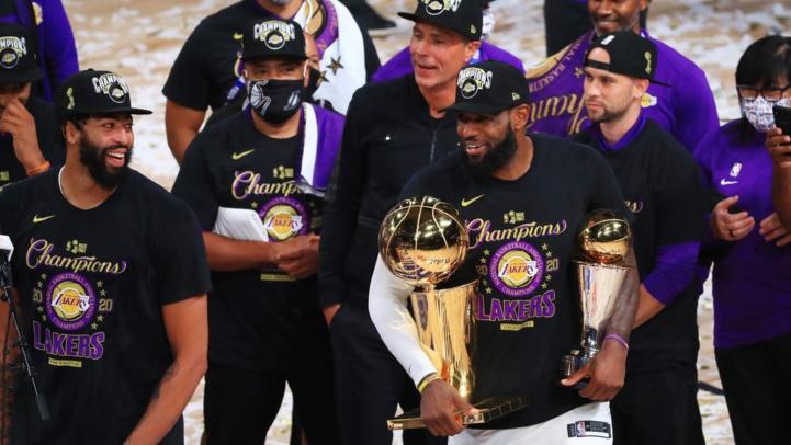 NBA: les Lakers champions pour la 17e fois