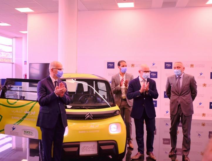 PSA/Barid Al-Maghrib : Signature d'un accord pour développer un véhicule 100% électrique