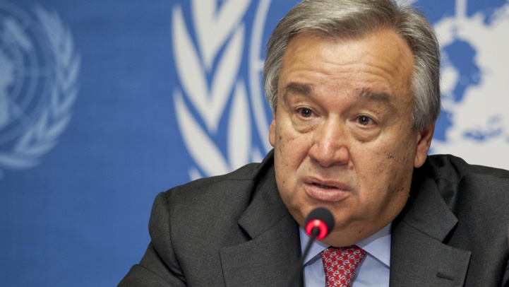 """António Guterres appelle le """"Polisario"""" à quitter Guerguerat"""
