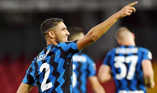 Sans Hakimi, l'Inter Milan tenu en échec par le Borussia Mönchengladbach (2-2)