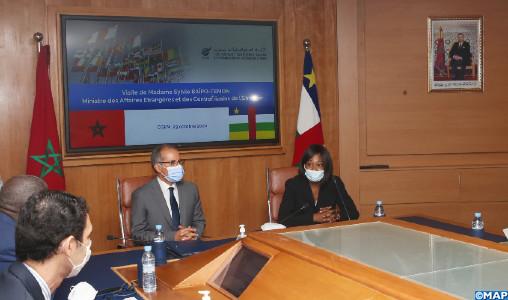 Le Maroc et la République centrafricaine explorent les moyens de développer la coopération économique