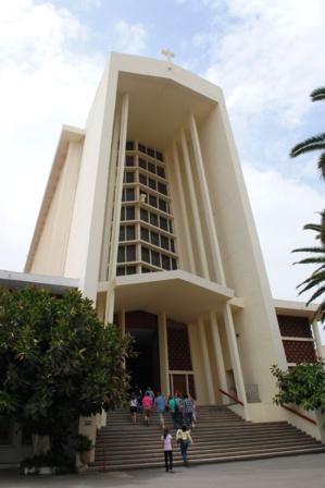 Notre Dame de Lourdes. Casablanca