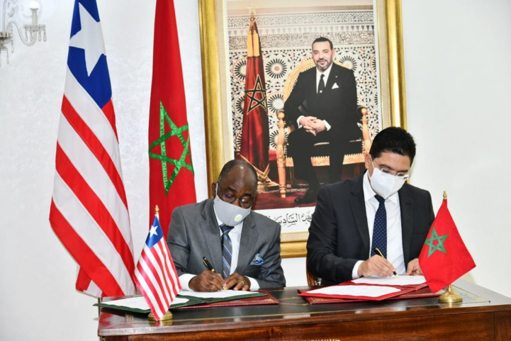 Maroc-Liberia: Signature de trois accords de coopération