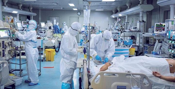Record absolu: 5.745 contaminations au Covid et 82 décès
