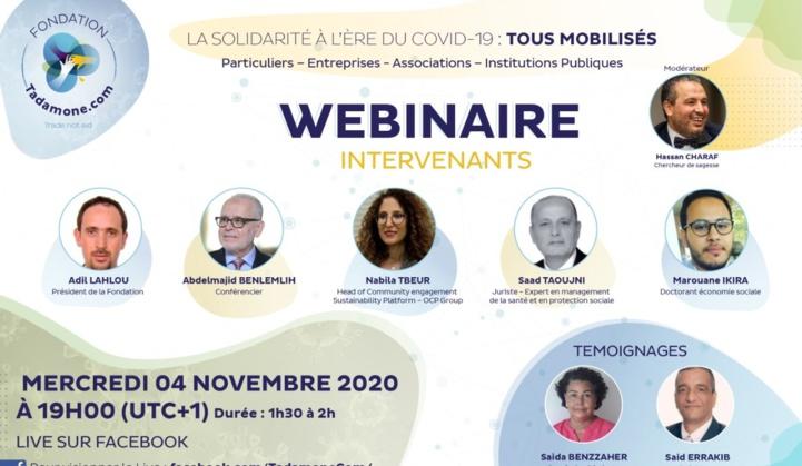 La solidarité à l'ère de la Covid-19, le Maroc appelé à plus d'altruisme dans le nouveau modèle de développement