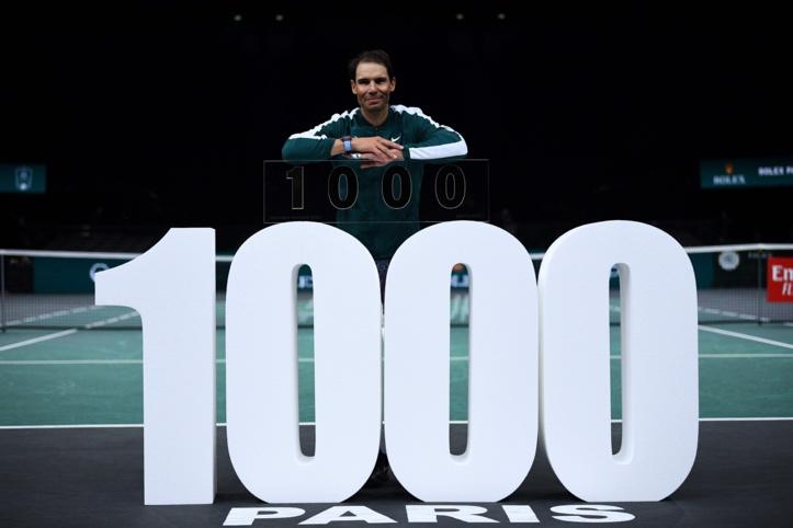 Masters 1000 de Paris: Nadal arrache sa 1000e victoire